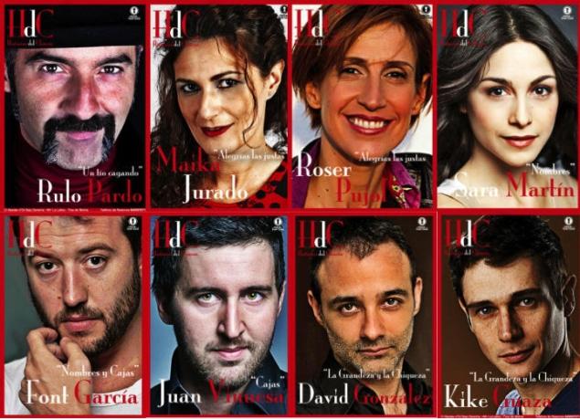 collage actores