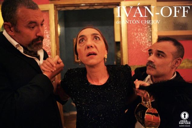 IVÁN-OFF Javier Delgado Tocho Rocio Calvo y David González