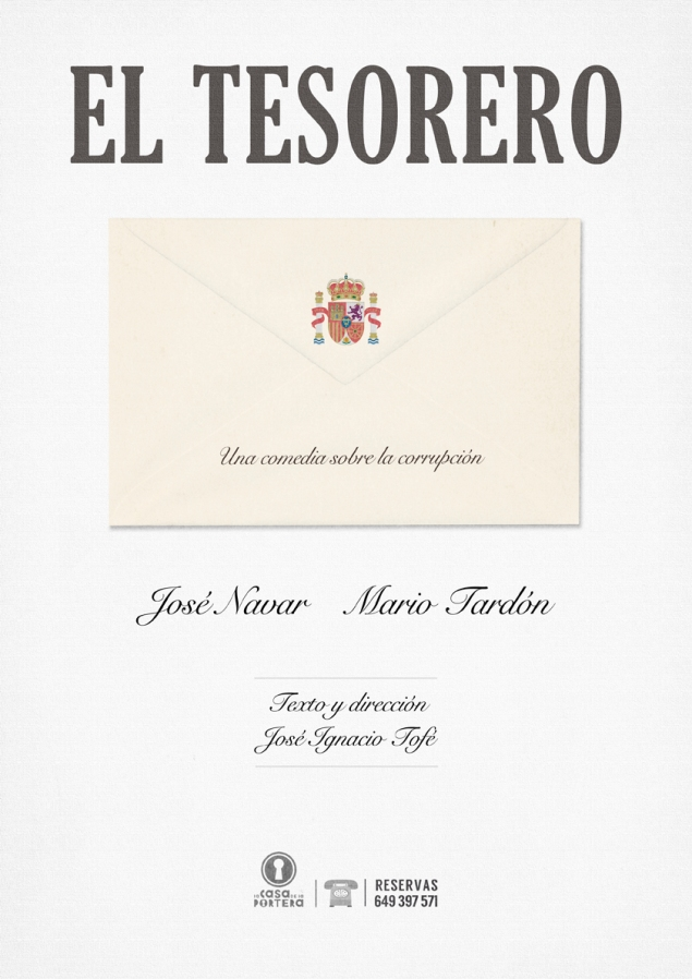 cartel EL TESORERO 29-03 BAJA