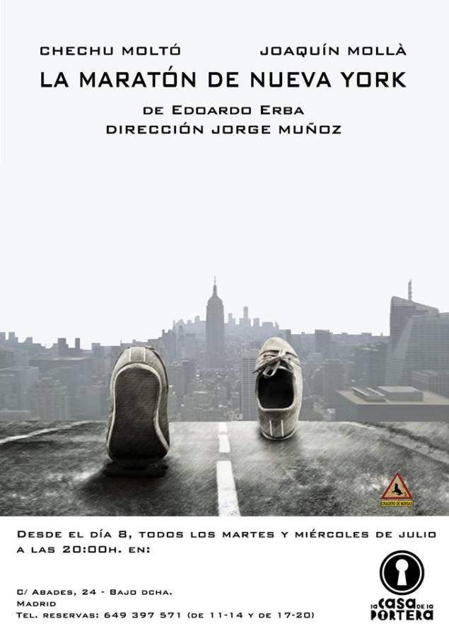 La Maratón de Nueva York cartel